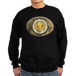 Buffalo gold oval 1 Sweatshirt (dark)