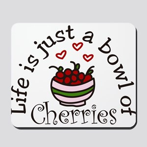 Bowl Of Cherries Mousepad