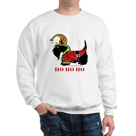 Santas Scottie Elf Sweatshirt
