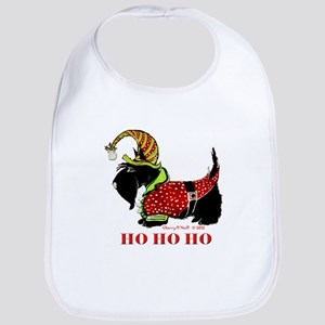 Santas Scottie Elf Bib