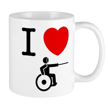 Wheelchair Fencing Mug