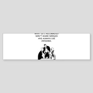 waitress joke Sticker (Bumper)