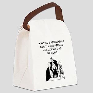 waitress joke Canvas Lunch Bag
