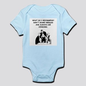 waitress joke Infant Bodysuit