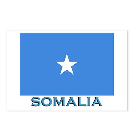 Somalia Flag Stuff Postcards (Package of 8)