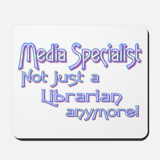 Media Specialist/Librarian Mousepad
