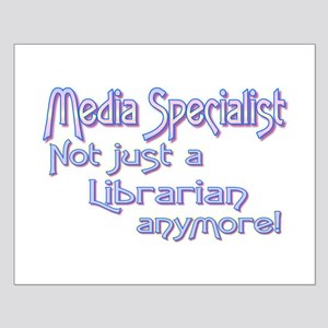 Media Specialist/Librarian Small Poster