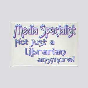 Media Specialist/Librarian Rectangle Magnet