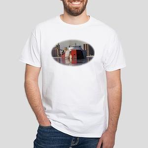 Roger Blough in Duluth harbor White T-Shirt