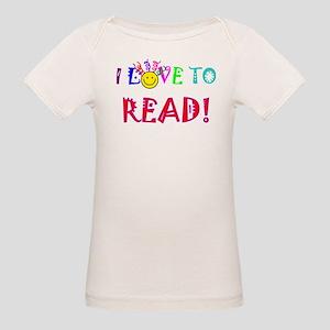 Love to Read Organic Baby T-Shirt