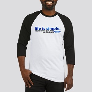 Life is Simple Baseball Jersey
