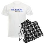 Life is Simple Men's Light Pajamas
