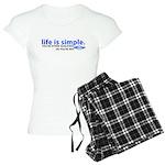 Life is Simple Women's Light Pajamas