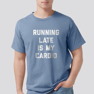 Running Late Is My Cardi Mens Comfort Colors Shirt