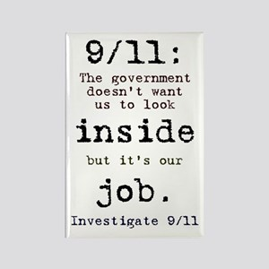 9/11: It's up to us Rectangle Magnet