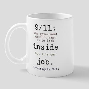 9/11: It's up to us Mug