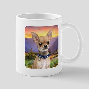Chihuahua Meadow Mug