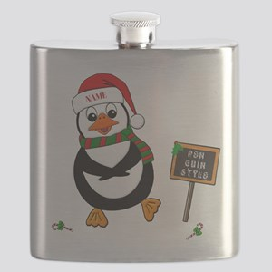 Add Name To Dancing Penguin Flask