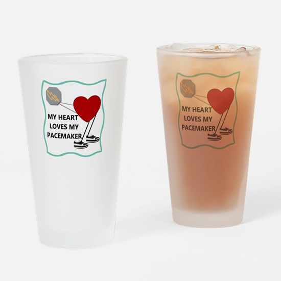 Heart Pacemaker Drinking Glass