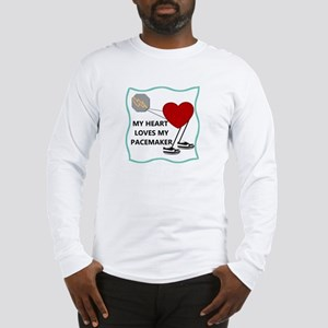 Heart Pacemaker Long Sleeve T-Shirt