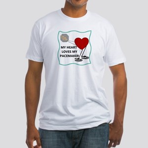 Heart Pacemaker Fitted T-Shirt
