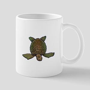 Pagan Sea Turtle Mugs