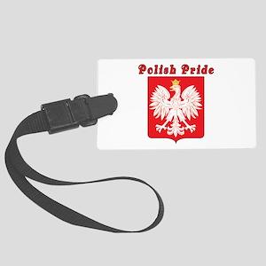 Polish Pride Eagle Large Luggage Tag