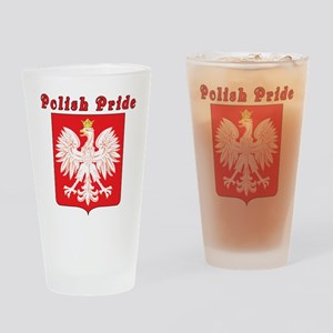 Polish Pride Eagle Drinking Glass