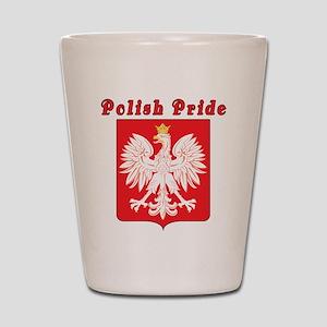 Polish Pride Eagle Shot Glass