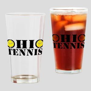 Ohio Tennis Drinking Glass