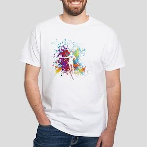 Color Splash Tennis Tshirt T-Shirt