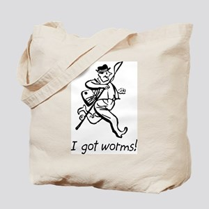 I Got Worms! Tote Bag