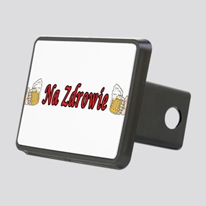 Na Zdrowie Toast Beer Mugs Rectangular Hitch Cover