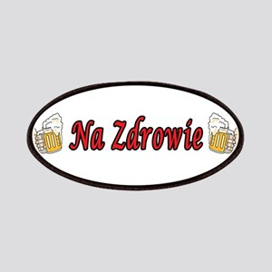 Na Zdrowie Toast Beer Mugs Patches