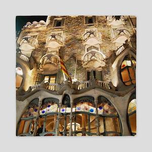 Casa Batllo by Gaudi Queen Duvet