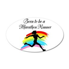 MARATHON RUNNER Wall Decal