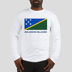 The Solomon Islands Flag Gear Long Sleeve T-Shirt