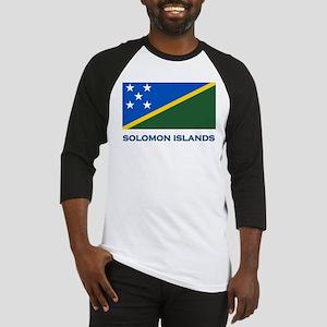 The Solomon Islands Flag Gear Baseball Jersey