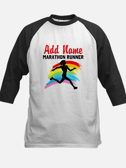 MARATHON RUNNER Kids Baseball Jersey