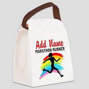 MARATHON RUNNER Canvas Lunch Bag