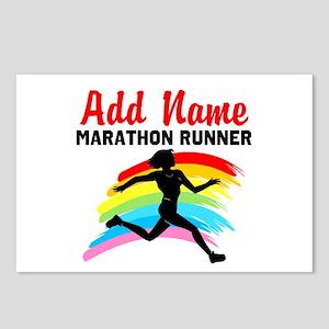 MARATHON RUNNER Postcards (Package of 8)