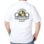 U.S. BORDER PATROL: Golf Shirt