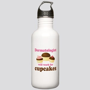 Dermatologist cupcakes Stainless Water Bottle 1.0L