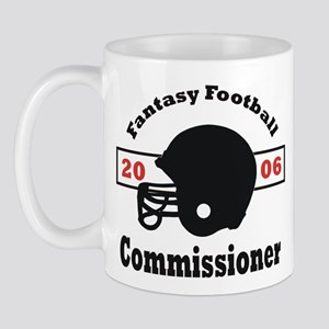 Fantasy Football Commissioner Mug