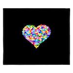 Rainbow Heart of Hearts King Duvet