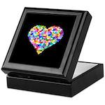 Rainbow Heart of Hearts Keepsake Box
