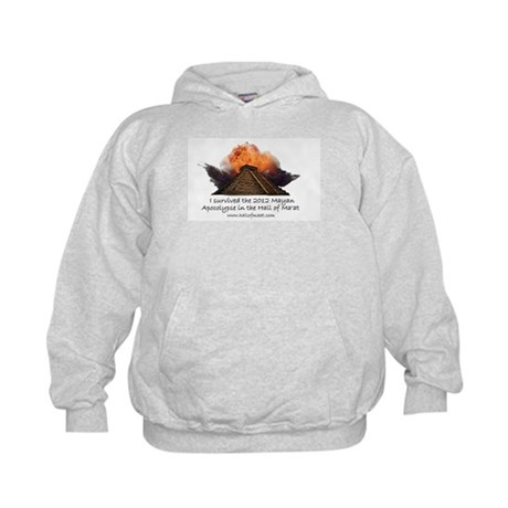 I survived the 2012 Mayan Apocalypse Kids Hoodie