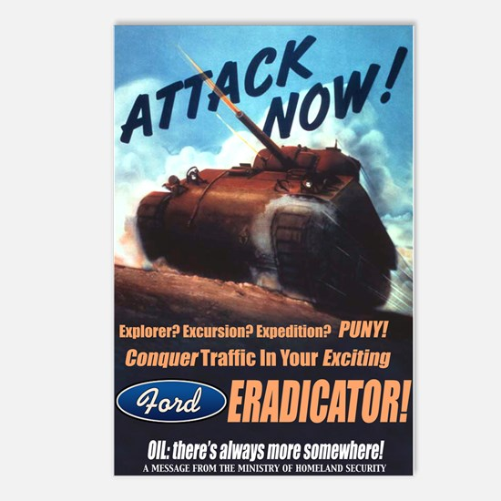 Ford Eradicator Postcards (Package of 8)