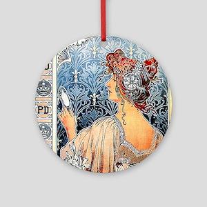 ART NOUVEAU Ornament (Round)