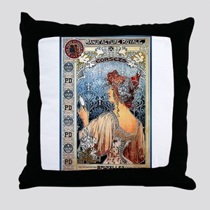ART NOUVEAU Throw Pillow